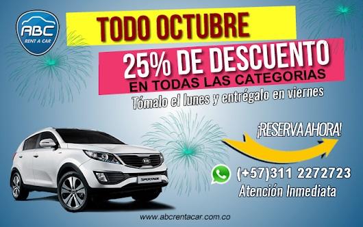 alquiler de autos en Bogotá económicos